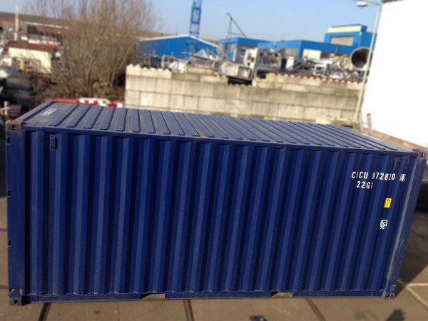 20ft container boven