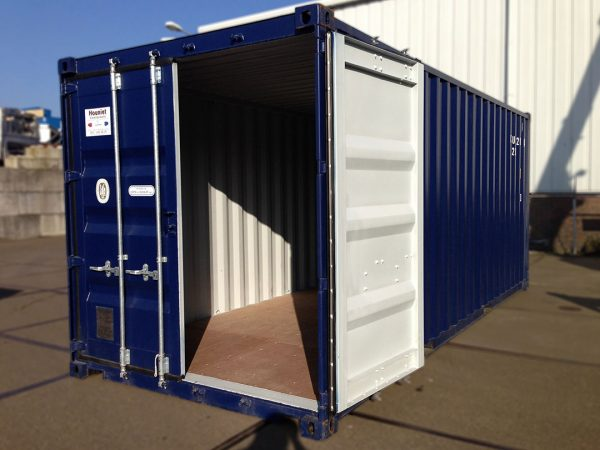 20ft container standaard open