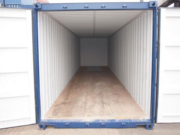 40ft container binnen