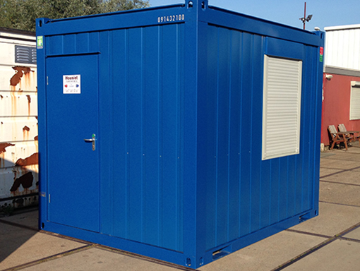 10ft accommodatie unit