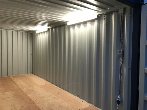 20ft container licht