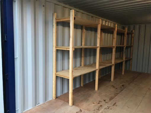 container stelling