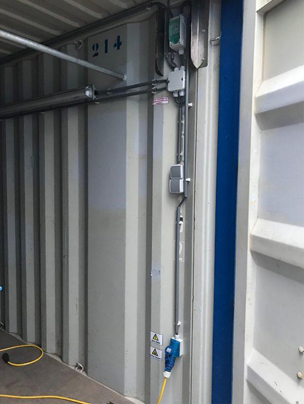 lengte-box container elektra