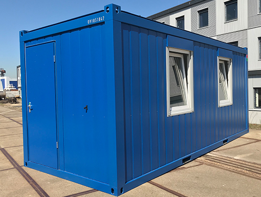 20ft accommodatie unit