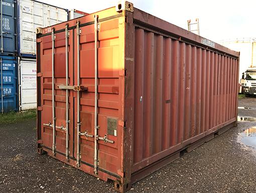 20ft gebruikte container
