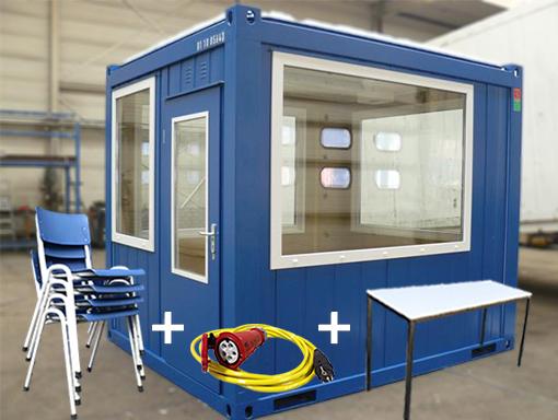 10ft volglas unit met toebehoren