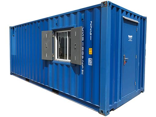 20ft combi-container